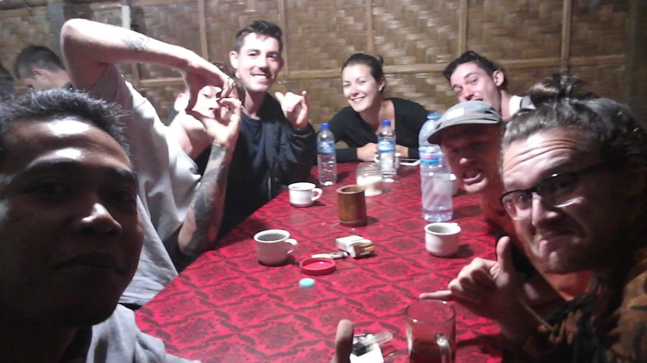 drink at mount batur warungs