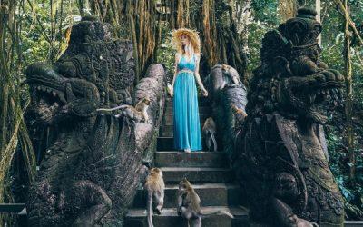 Hutan Monyet di Ubud